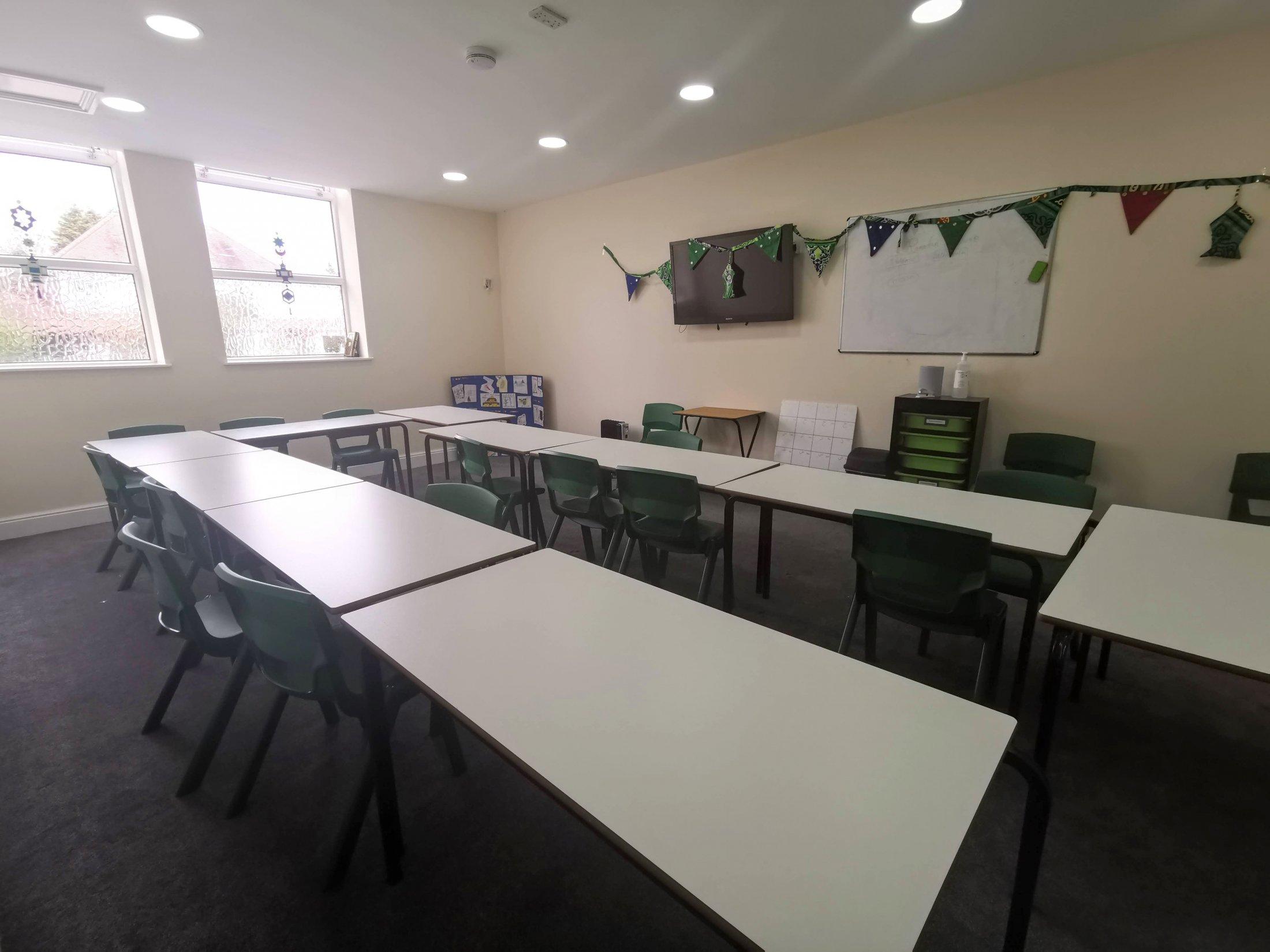 The Abu Hassan classroom