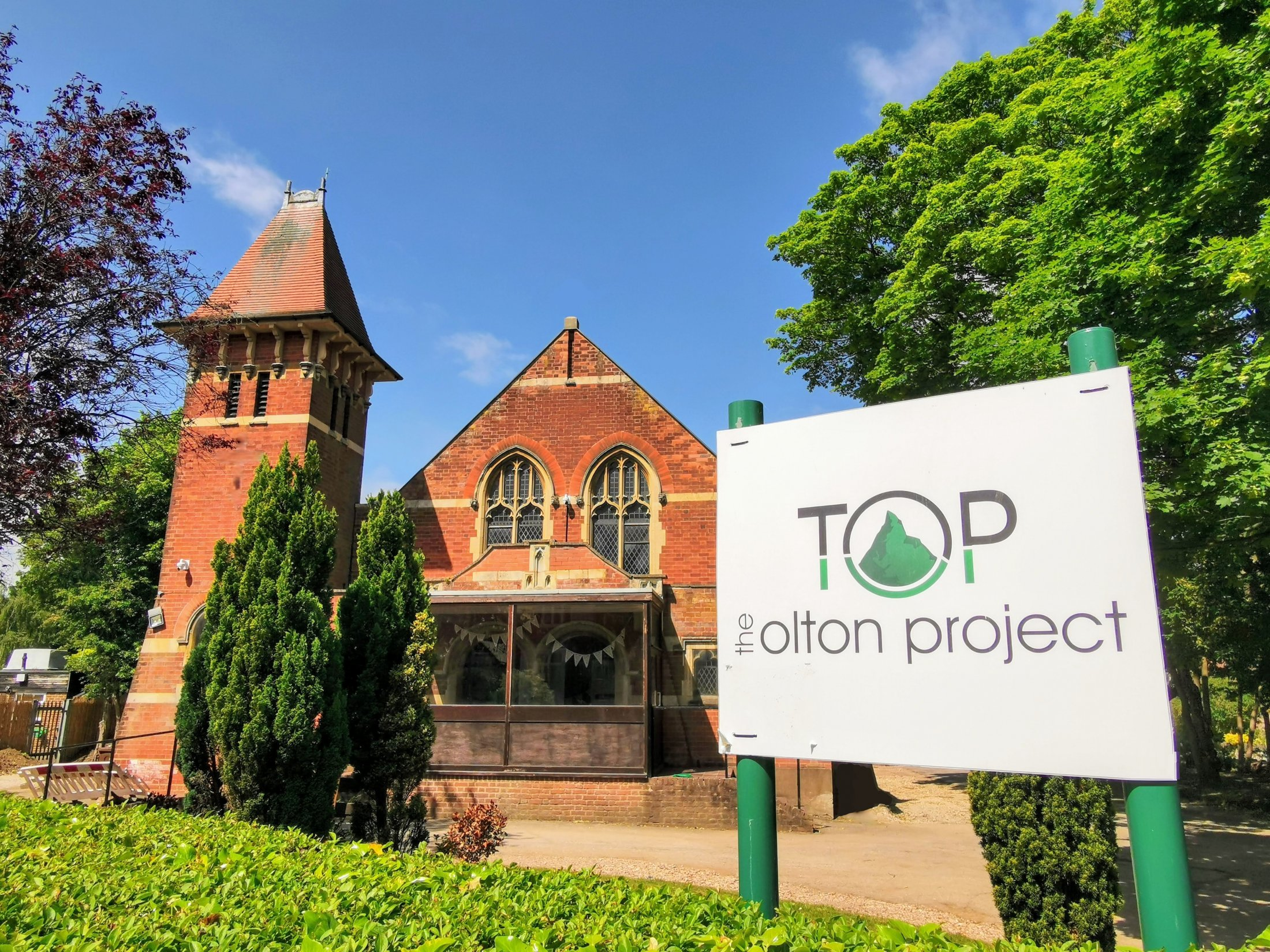The Olton Project, current front view