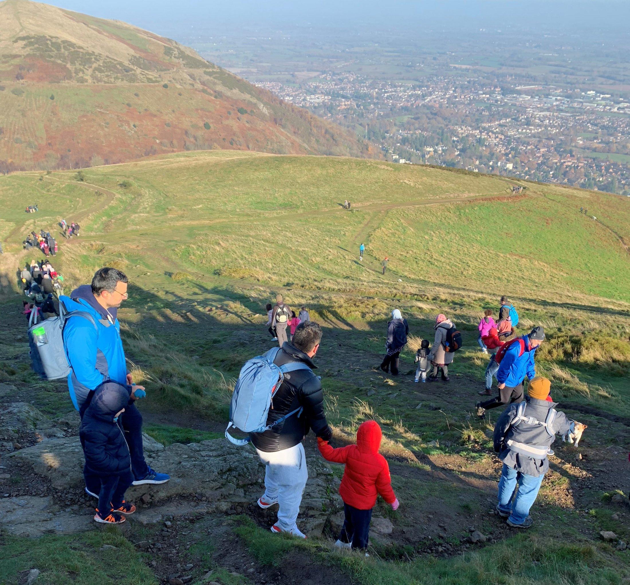 The 2018 TOP Trek took us to the beautiful Malvern Hills
