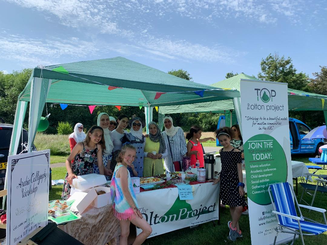 TOP's stall at Olton Park Life 2019